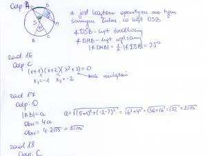 Rozwiązania zadań maturalnych z matematyki 2013