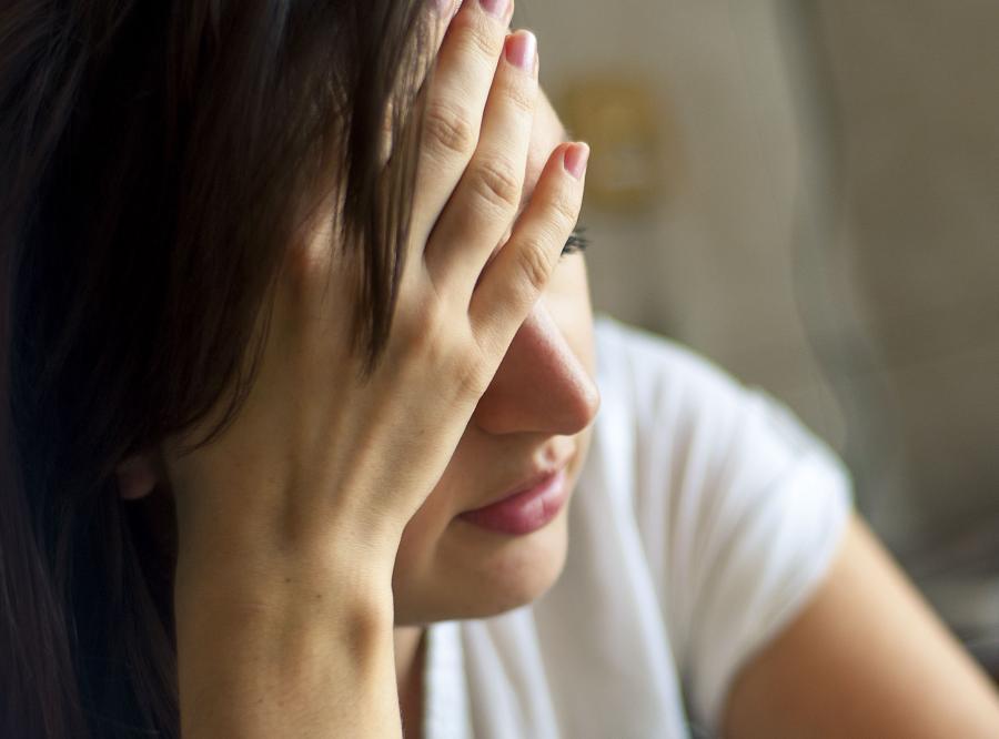 Kobieta ma depresję