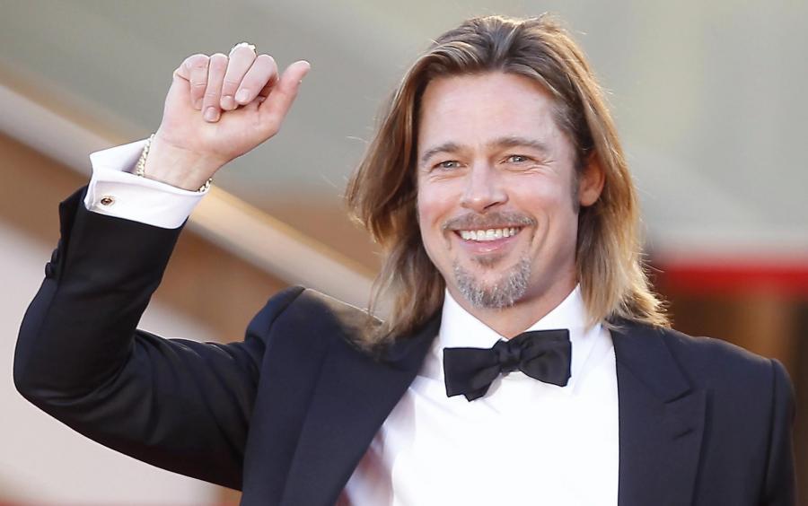 Brad Pitt zaskoczył widzów w kinie
