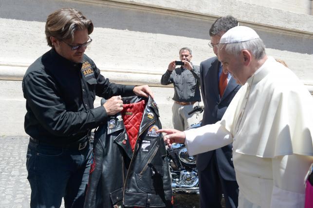 Świętowanie 110. rocznicy Harley-Davidson w Rzymie