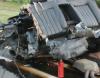 Audi S8 roztrzaskane przez Polaka w Belgii/źródło tvl.be