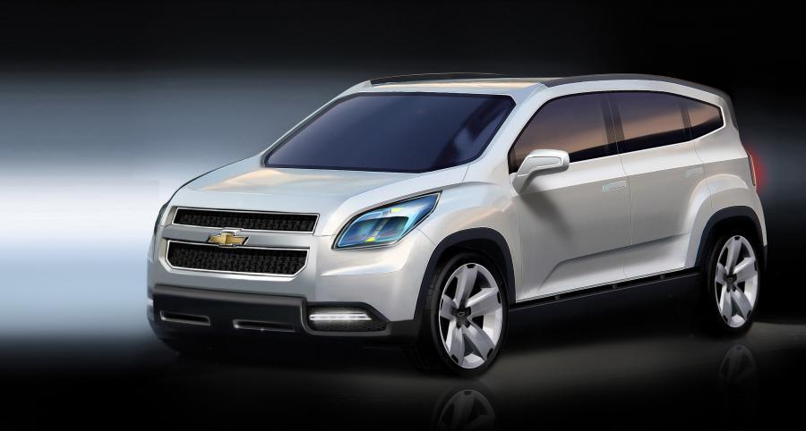 Orlando - nowy van Chevroleta