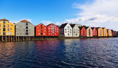 Trondheim w Norwegii