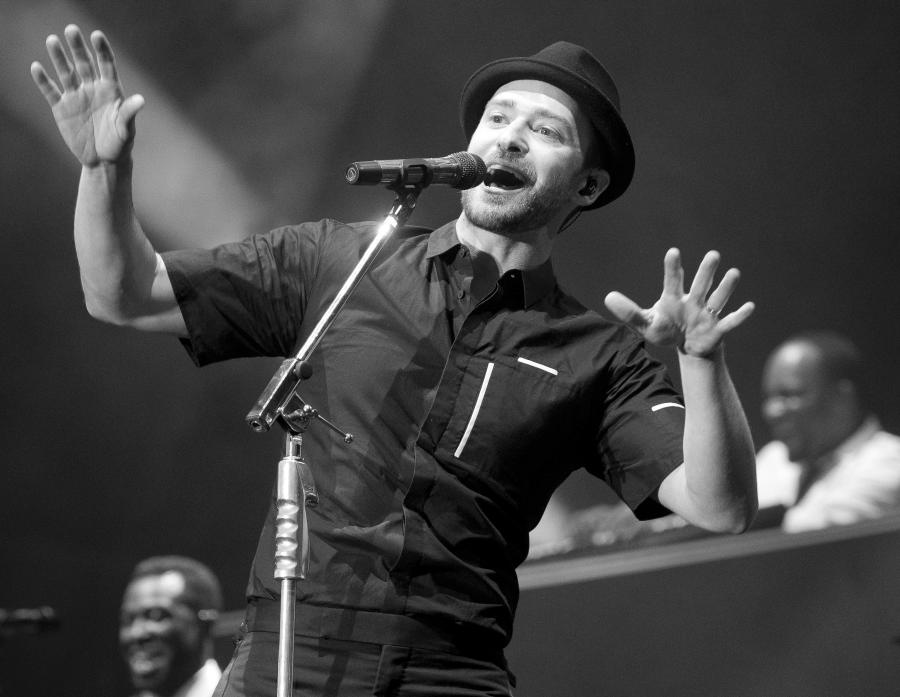 Justin Timberlake prezentuje \