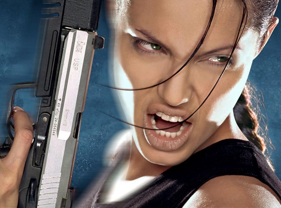 Angelina Jolie jako Lara Croft w \