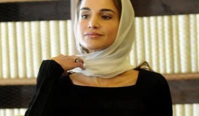 Królowa Jordanii Rania Al-Abdullah