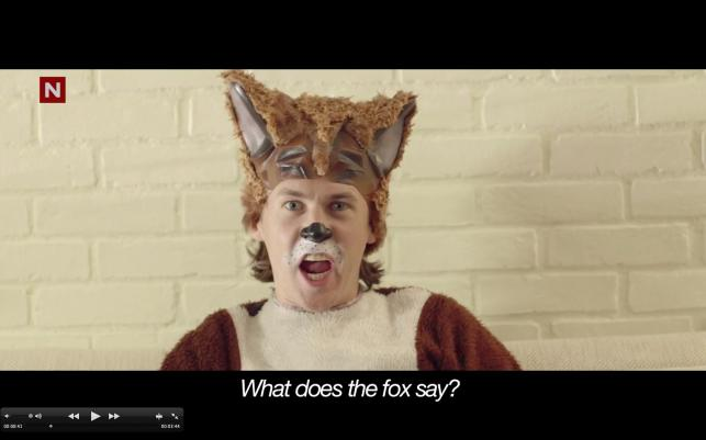"""What does the Fox say?"" – nowy hit internetu"