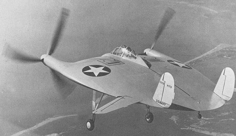 The Vought V-173