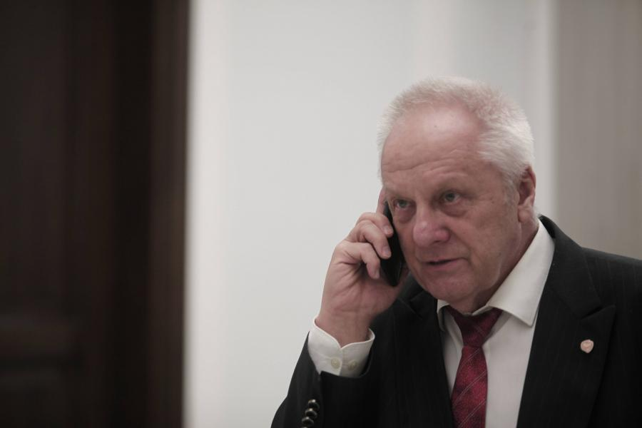 Poseł PO Stefan Niesiołowski