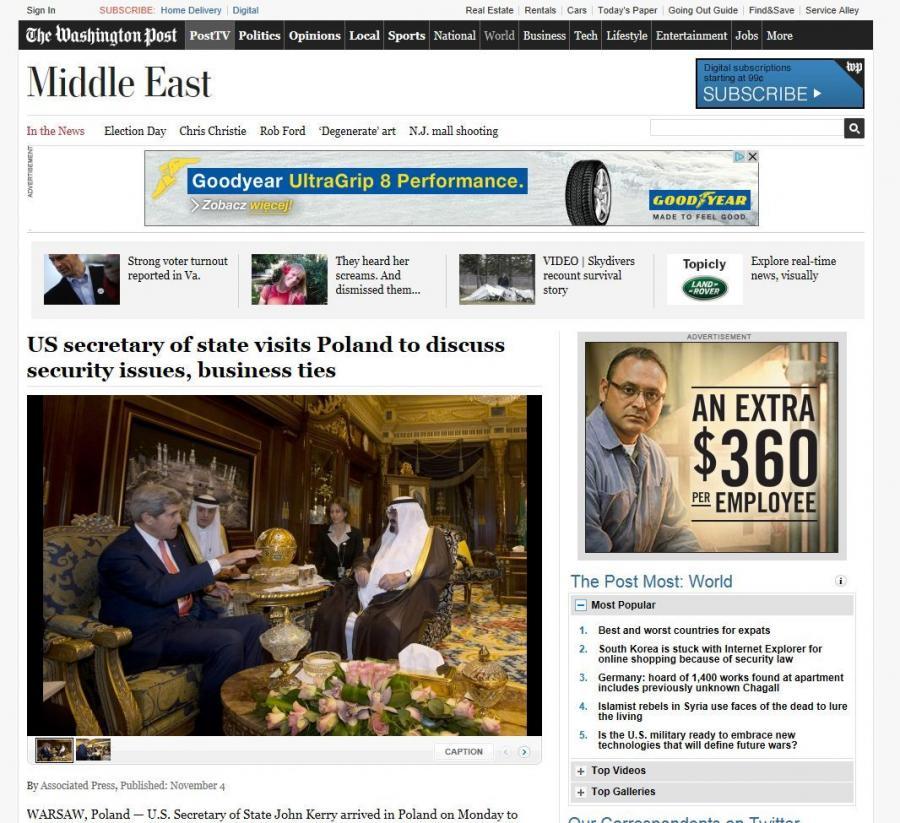 strona Washington Post