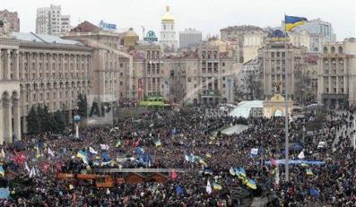 Protest w Kijowie