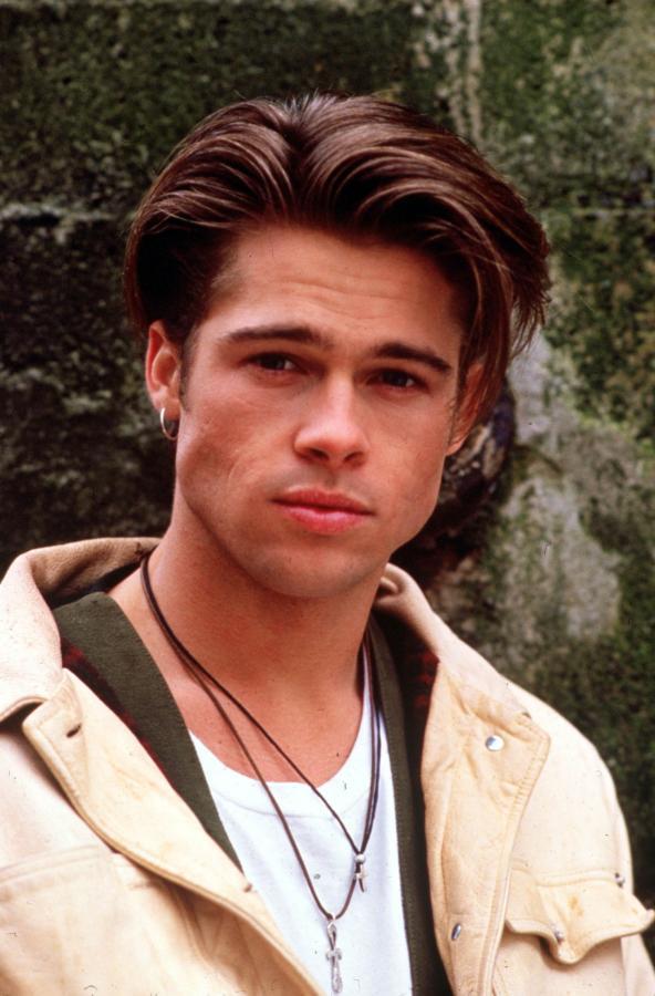 Brad Pitt na początku kariery w roku 1986