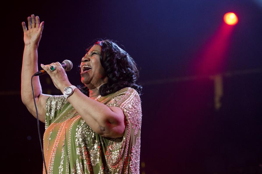 Aretha Franklin nagrywa covery