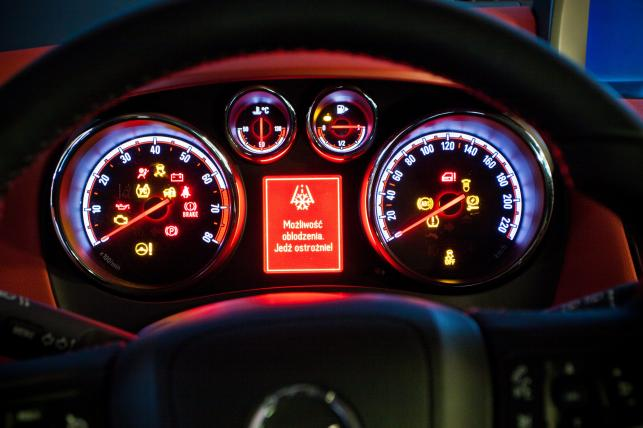 Opel meriva - wskaźniki