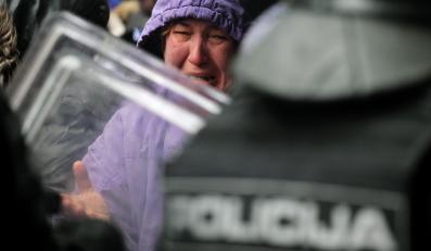 Zamieszki w Sarajewie