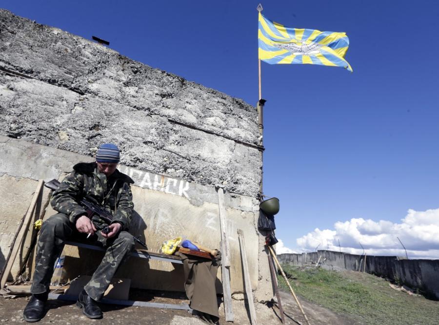 Ukraina żołnierz ukraiński