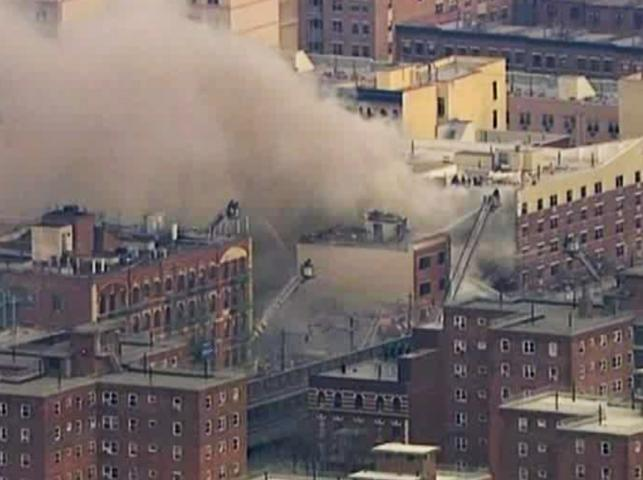 Wybuch w Harlemie