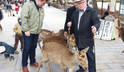 Lech Wałęsa w Japonii