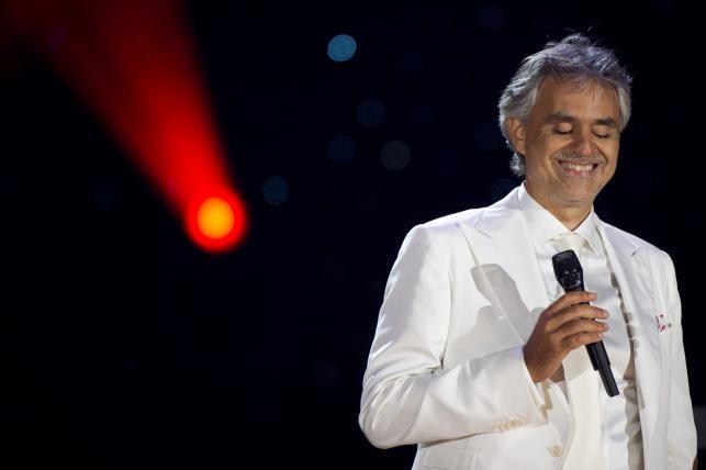 Andrea Bocelli ponownie jest numerem jeden w Polsce