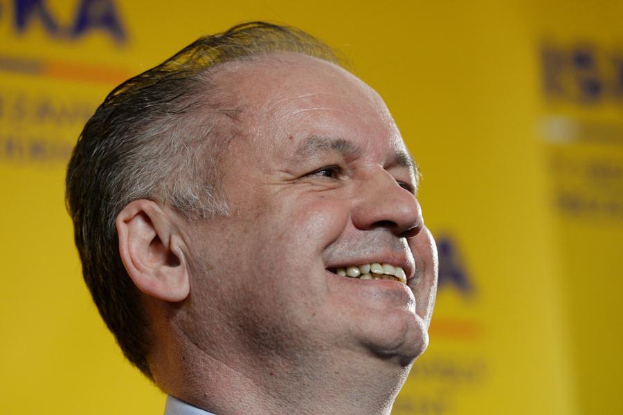 Nowy prezydent Słowacji Andrej Kiska
