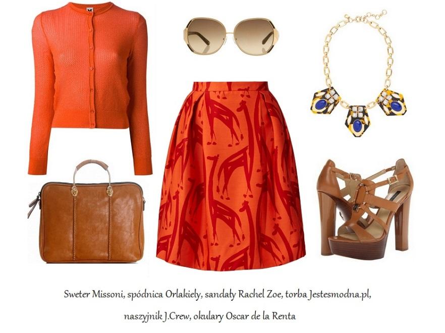 Wiosenne stylizacje inspirowane afrykańską sawanną
