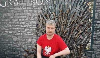 """""""prawdziwy Polak"""" na tronie"""