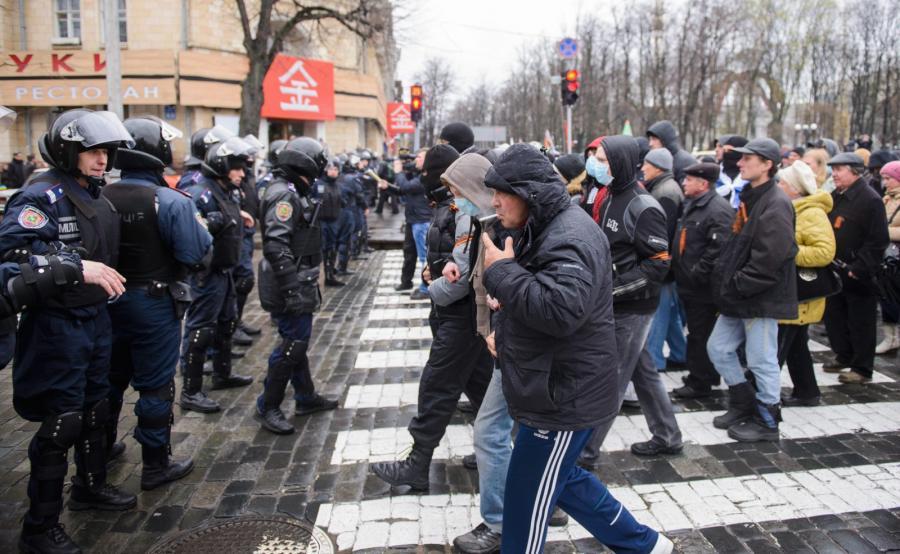 Separatyści w Charkowie