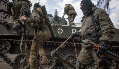 """Rosyjskie """"zielone ludziki"""" na Ukrainie"""