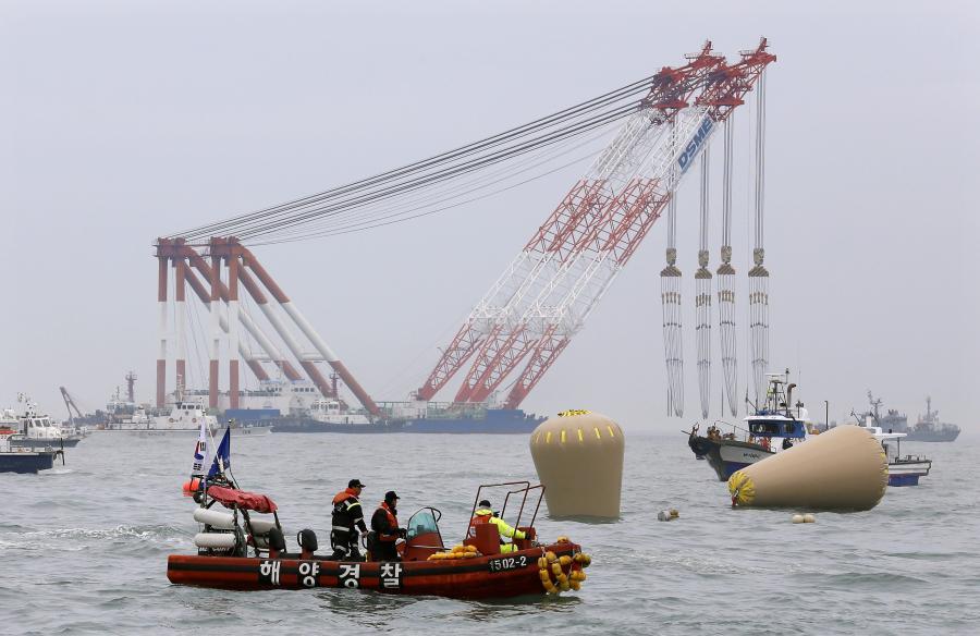 Akcja ratunkowa u wybrzeży Korei