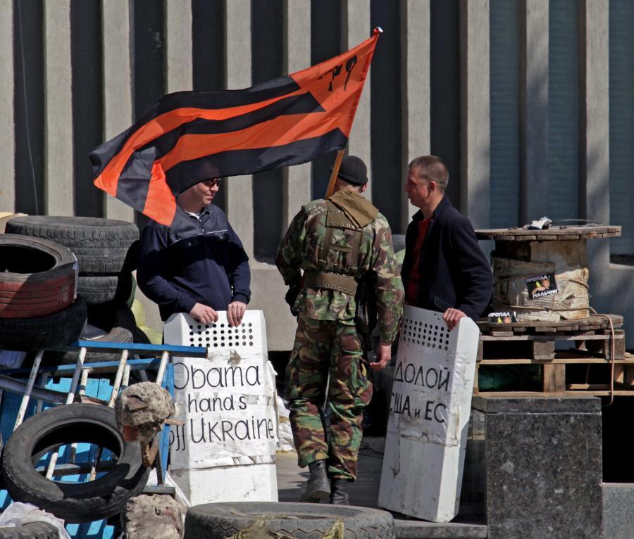 Prorosyjskie bojówki w Donbasie