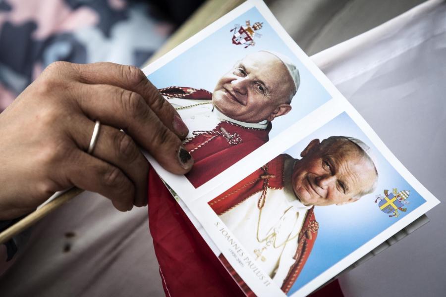 Święty Jan XXIII i Święty Jan Paweł II