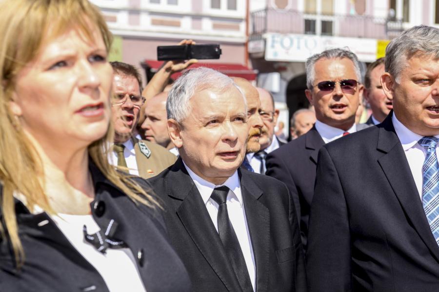 Prezes PiS Jarosław Kaczyński w Radomiu