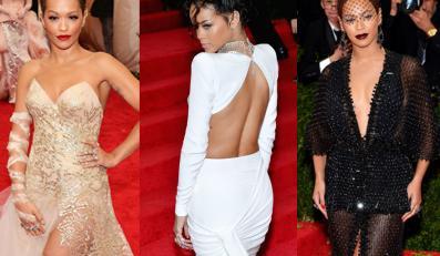 Rita Ora, Rihanna i Beyoncé – która piękniejsza na czerwonym dywanie?