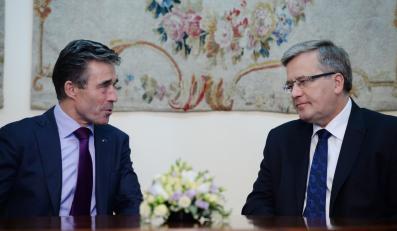Anders Fogh Rasmussen i Bronisław Komorowski