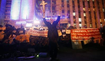 Separatyści w Ługańsku