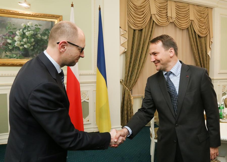 Radosław Sikorski w Kijowie