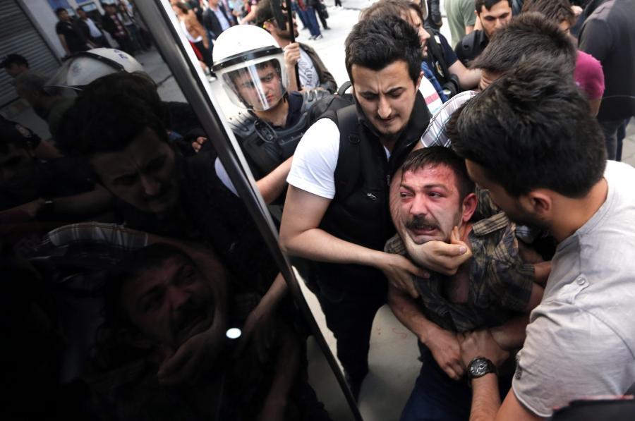 Demonstracje w Turcji po katastrofie w kopalni w Somie