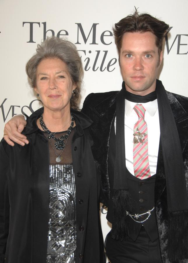 Rufus Wainright i jego matka Kate McGarrigle