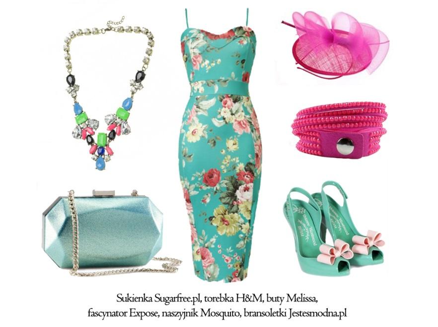 Sukienki na wesele - STYLIZACJE na lato 2014