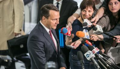 Radosław Sikorski / zdjęcie ze strony msz.gov.pl