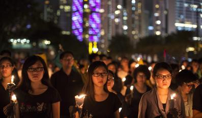 Nocne czuwanie w Hongkongu