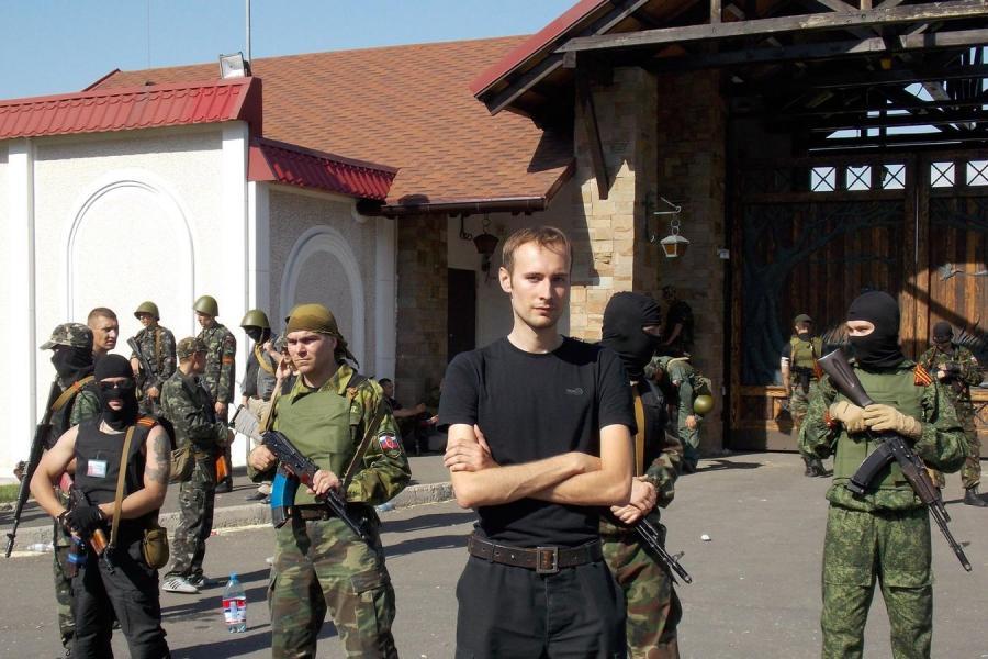 Bartosz Bekier na Ukrainie