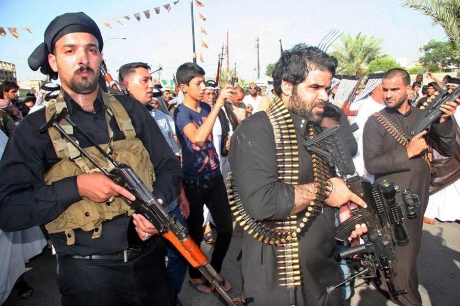 Iraccy dżihadyści szturmowali Bakubę