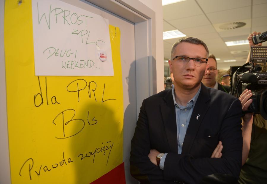 Przemysław Wipler w redakcji \