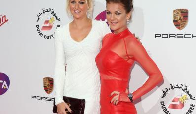 Agnieszka i Ula Radwańskie swoim wyglądem zachwyciły Wimbledon