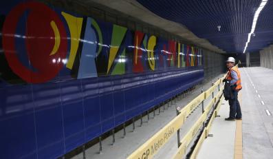 Pierwszy techniczny przejazd pociągiem Inspiro fragmentem II linii metra