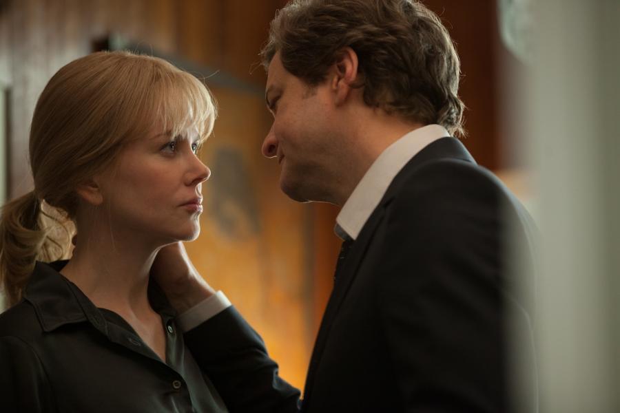 Nicole Kidman i Colin Firth w filmie \
