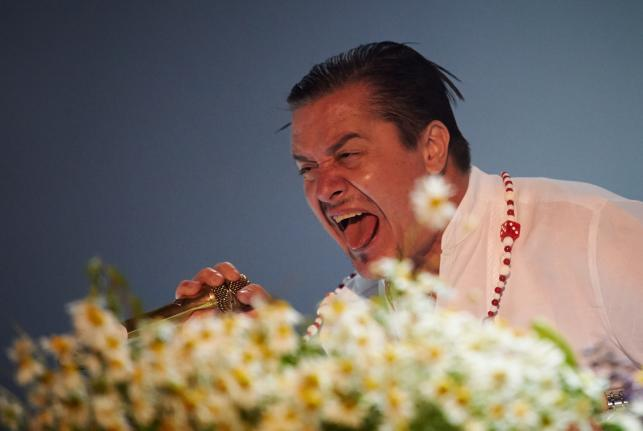 Mike Patton i Faith No More na Open'er Festival 2014