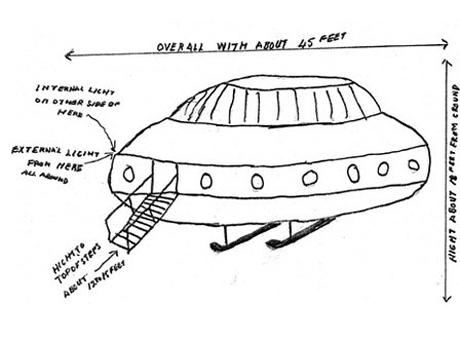 Brytyjczycy odtajnili informacje o UFO