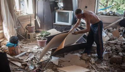 Zniszczenia na Ukrainie
